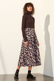 Audition Skirt | Masque Print - Kowtow | Ecoture