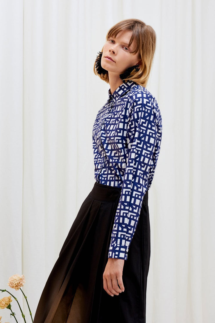 Classic Shirt | Shadow Print - Kowtow | Ecoture