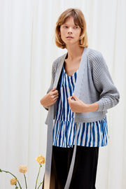 Composure Cardigan | Grey Marle - Kowtow | Ecoture