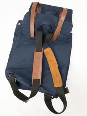 Duffel | Navy - Will's Vegan Shoes | Ecoture