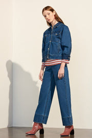 Formation Jacket | Denim - Kowtow | Ecoture