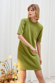 Knitted Tee Dress | Gingko - Kowtow | Ecoture