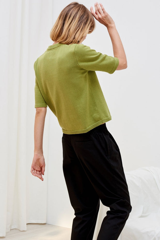 Knitted Tee | Gingko - Kowtow | Ecoture