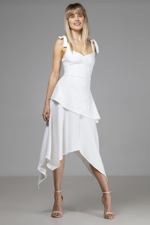 Layla Dress | White - Indecisive | Ecoture