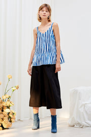 Linear Top | Wave Print - Kowtow | Ecoture