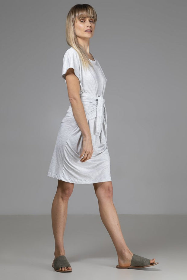 Maya Dress | Light Grey - Indecisive | Ecoture