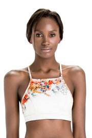 Mia Racerback Top | Ivory Tigress - NAJA | Ecoture
