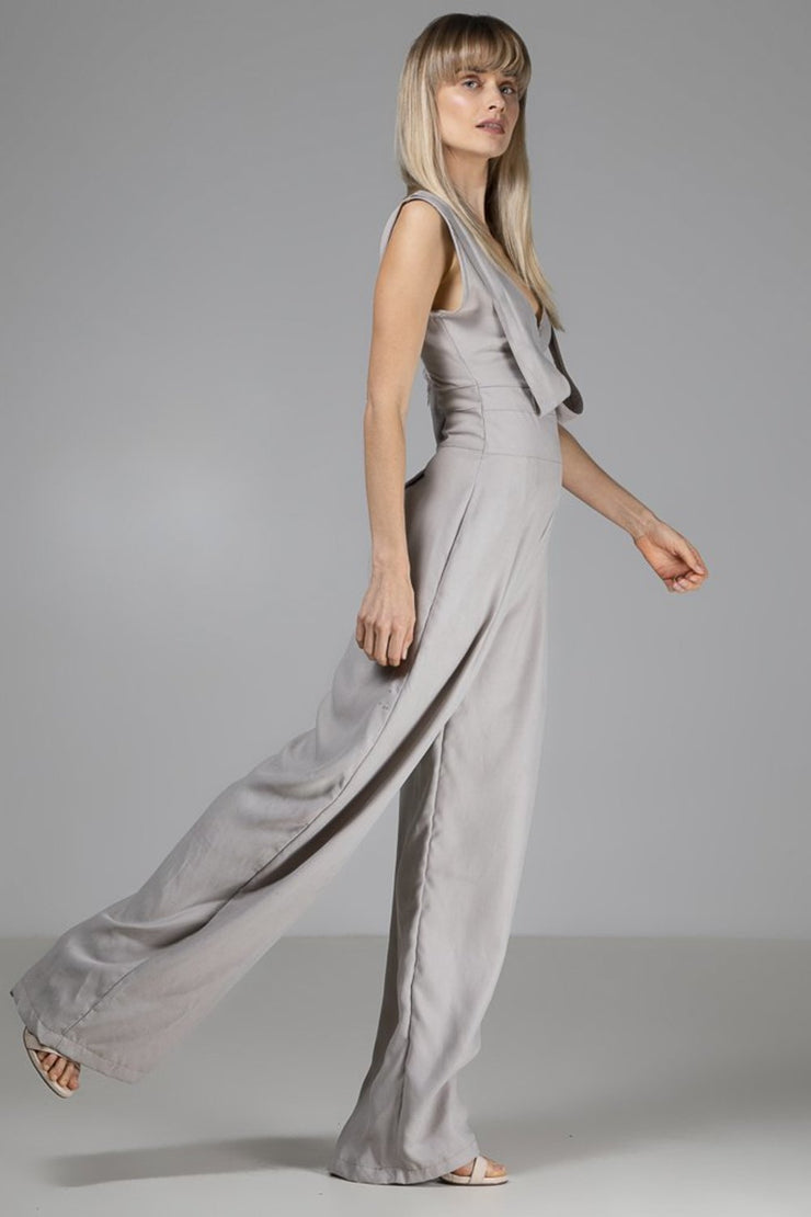 Mila Jumpsuit | Grey - Indecisive | Ecoture