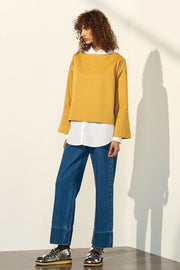 Nelken Top | Gold - Kowtow | Ecoture