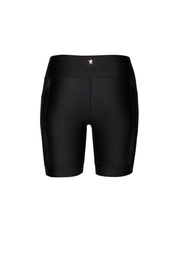 Nicole Mesh Shorts | Black - NAJA | Ecoture