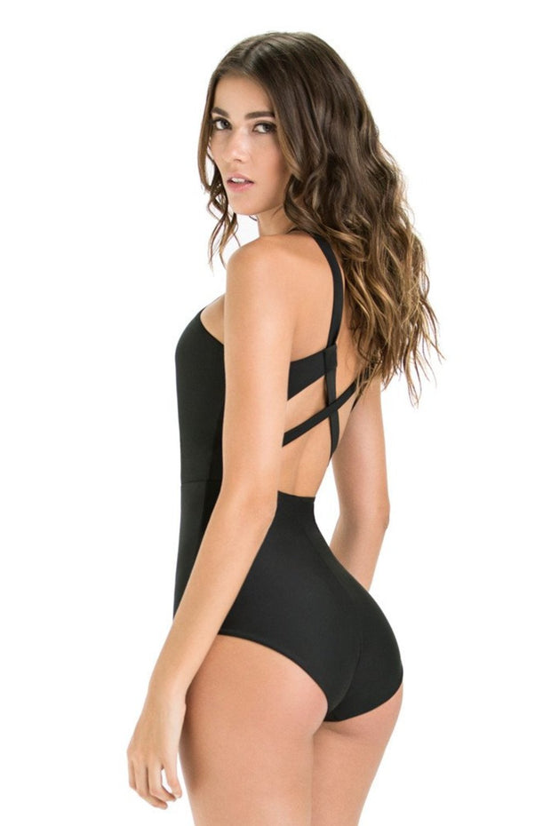 Rafaella One Piece | Black - NAJA | Ecoture