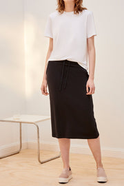 Skirt | Black - Kowtow | Ecoture