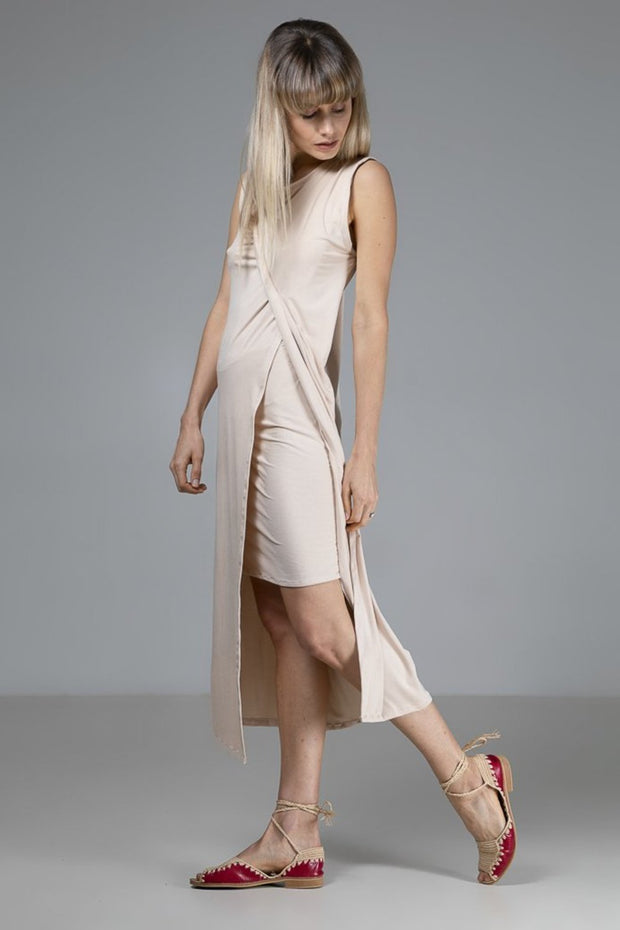 Sophia Dress | Nude - Indecisive | Ecoture