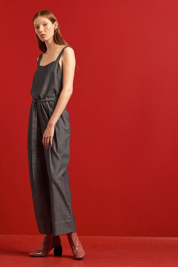 Spring Jumpsuit | Chambray - Kowtow | Ecoture