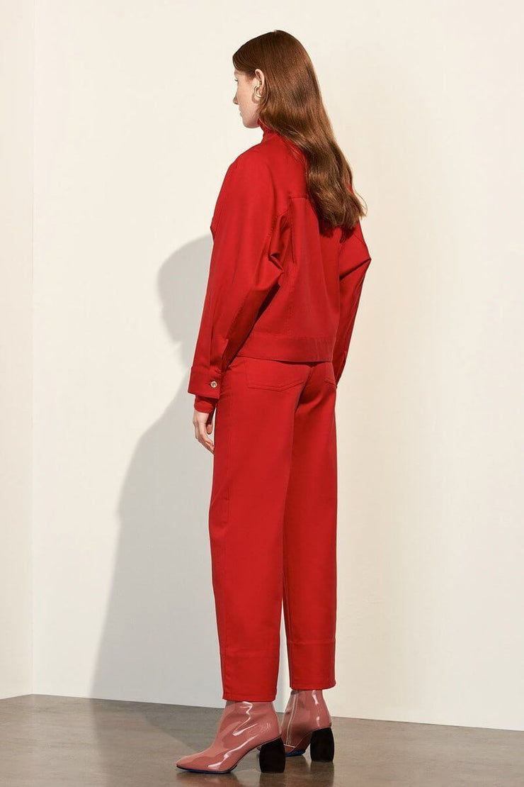 Stage Pant | Red - Kowtow | Ecoture