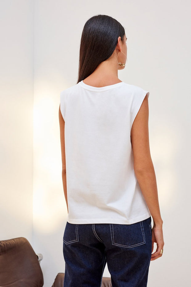 Tank Top | White - Kowtow | Ecoture