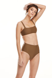 The Audrey Top | Bronze - BAABY | Ecoture