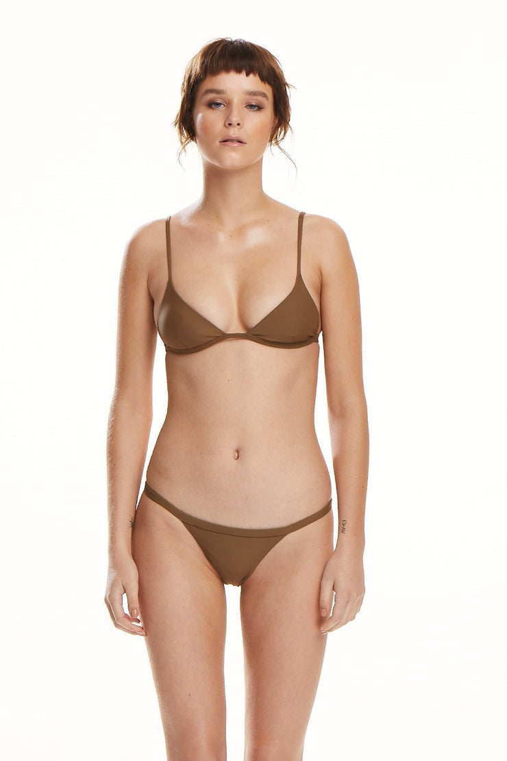 The Margot Top | Bronze - BAABY | Ecoture