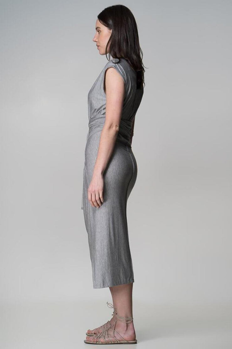 Xavier Dress | Grey - Indecisive | Ecoture