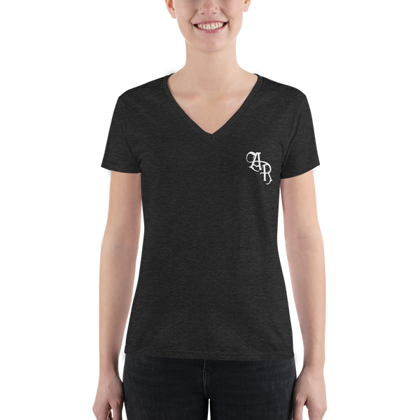 Audio Reign - Women's Fashion Deep V-neck Tee
