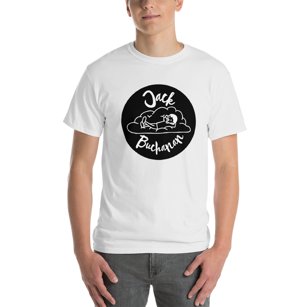 Jack Buchanan - White Short-Sleeve T-Shirt