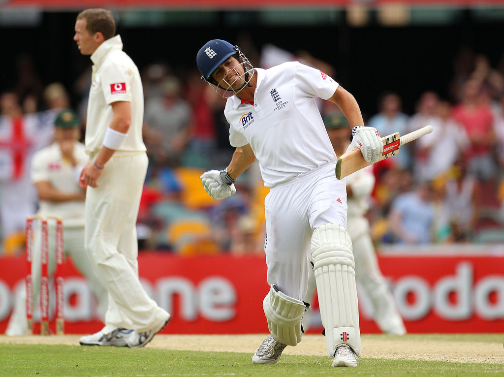 Cook century in the Ashes