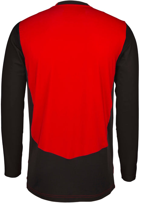 2600 CCFD19 5030505 Shirt T20 Long Sleeve Red & Black, Back