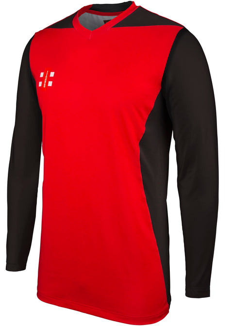 2600 CCFD19 5030505 Shirt T20 Long Sleeve Red & Black Main
