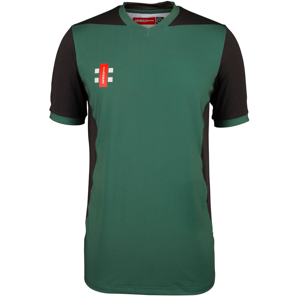 CCFB18Shirt T20 Green_black, Front