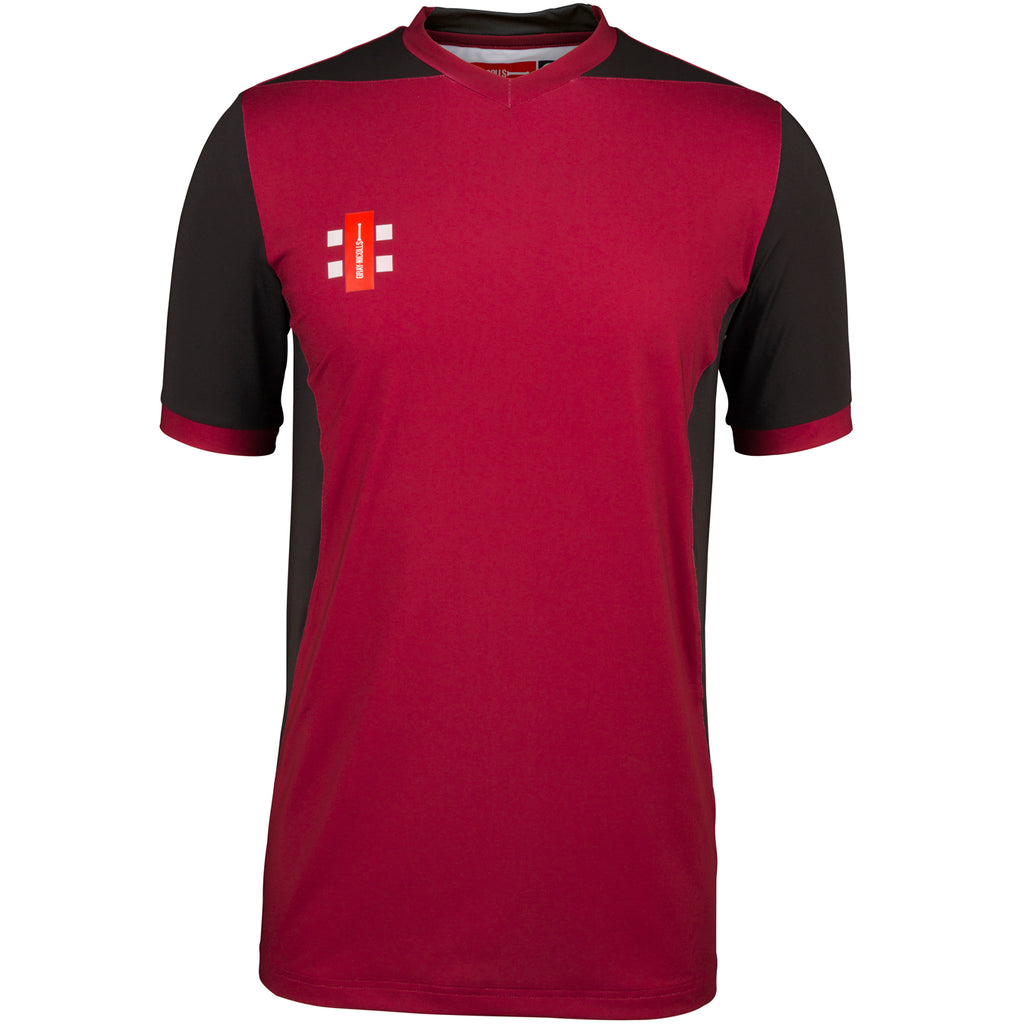 CCFB18Shirt T20 Maroon_black, Front