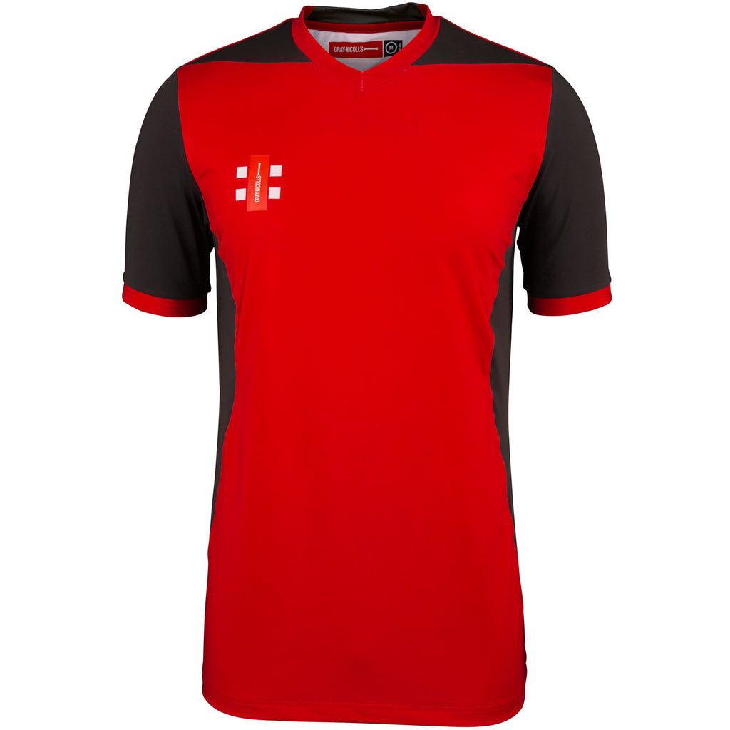 CCFB18Shirt T20 Red_black, Front
