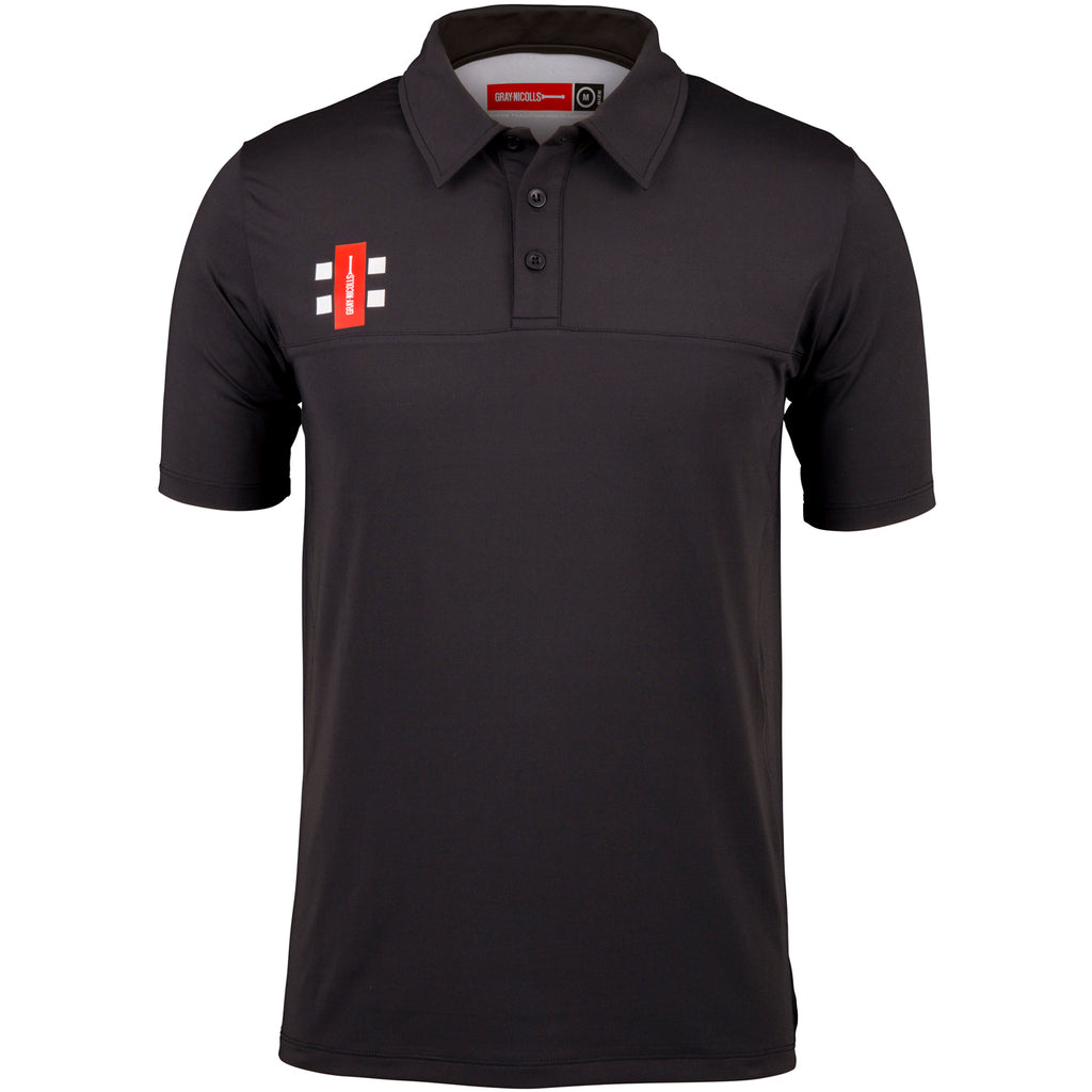 CCFC18Polo Shirt Pro Performance Black, Front