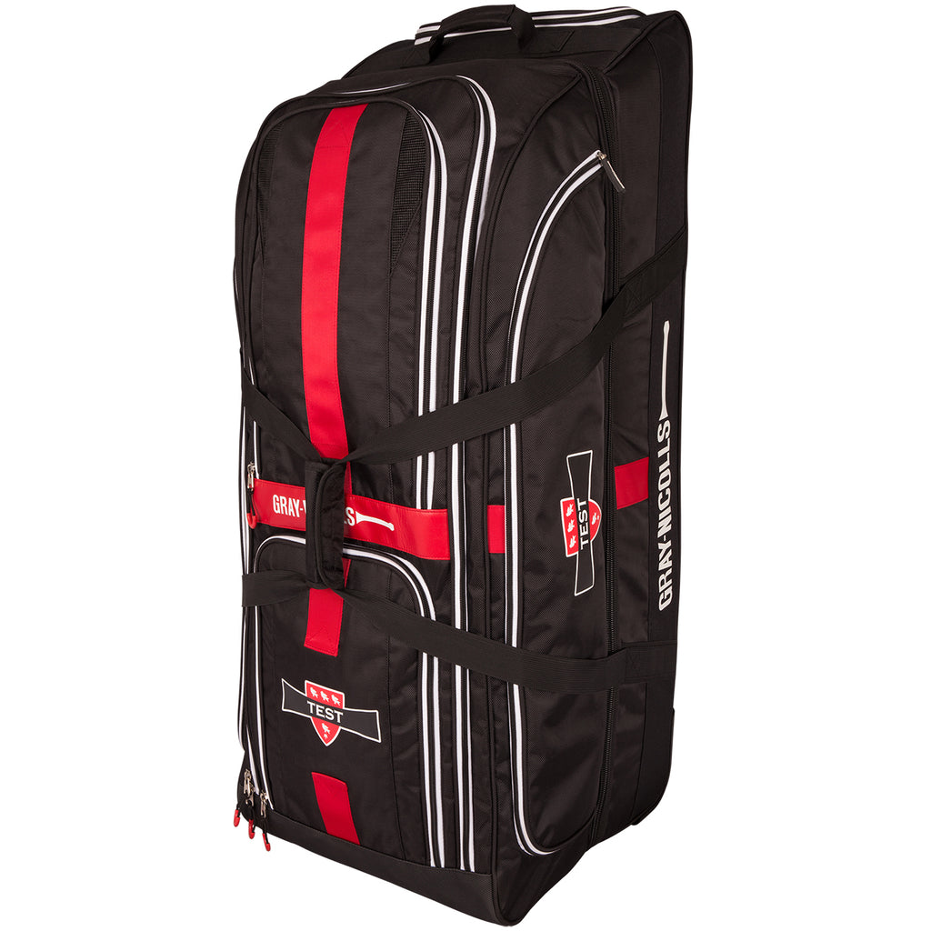 CHAA17Bag Test Holdall Holdall Black_red_white Standing