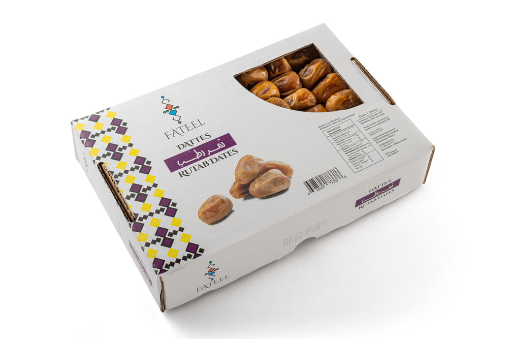 Rutab Dates Large 1.5 KG (2 Boxes)