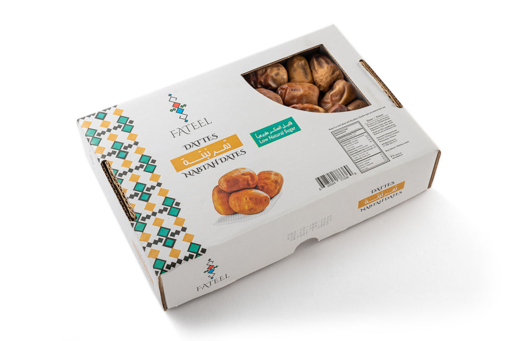 Nabtah Dates Large 1.25 KG (2 Boxes)