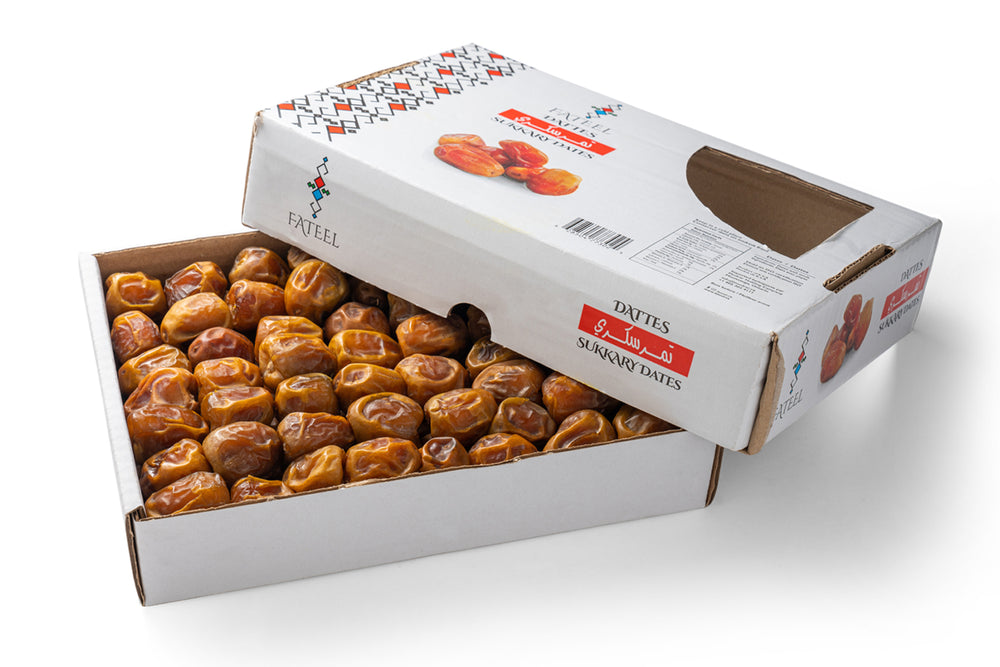 Sukkary Dates Large 1.5 KG (2 Boxes)