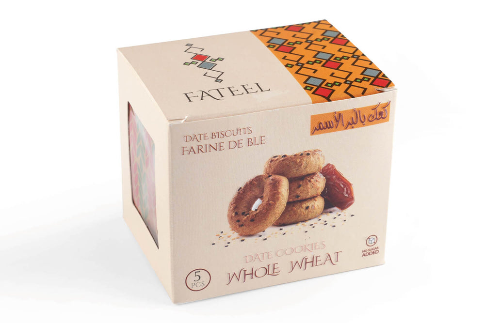 Whole Wheat Date Cookies (5 Boxes)