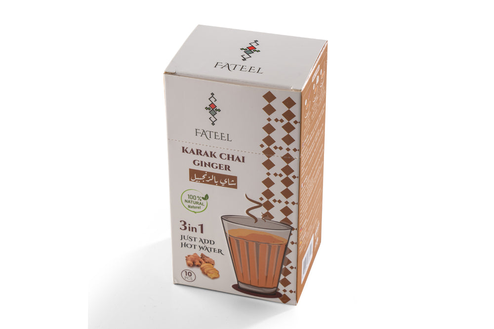 Karak Chai Ginger (Tea Latte) Premix - 3 Boxes