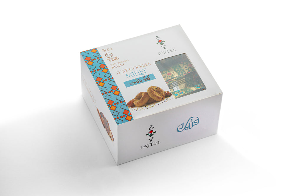 Millet Date Cookies - No Sugar Added (6 Boxes)