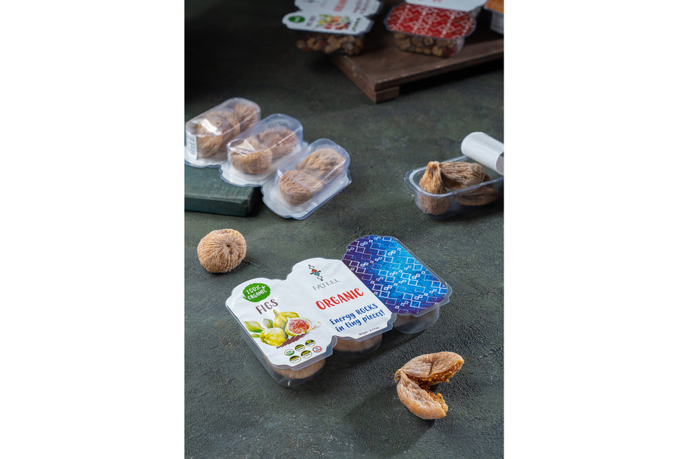 100% Organic Figs Snacks (Grab and Go) -   5 Packs