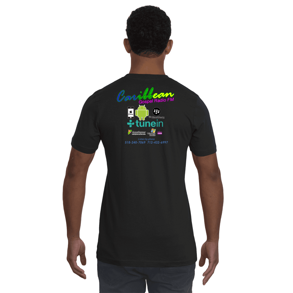 Short-Sleeve Unisex T-Shirt from Caribbean Gospel Radio FM