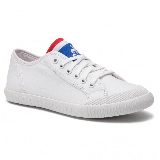 Le Coq Sportif Kids Nationale GS Sport Shoes in Optical White