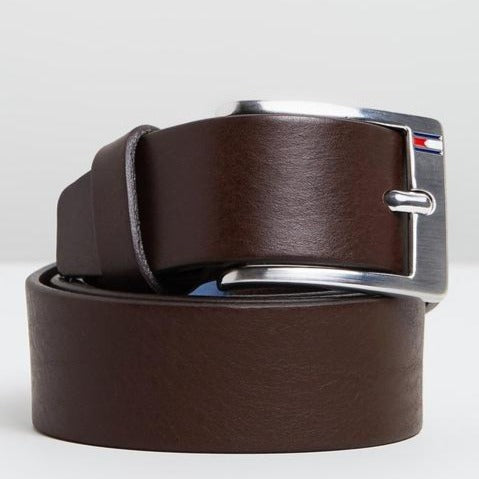 Tommy Hilfiger Men New Aly Belt in Brown