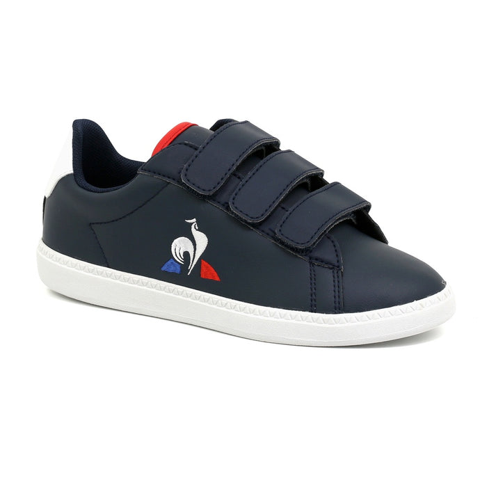 Le Coq Sportif Kids Courtset PS Shoes Dress Blue/ Optical White