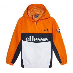 Ellesse Kids Garinos JNR Jacket in Orange
