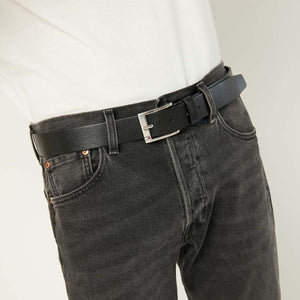 Tommy Hilfiger Men New Aly 3.5 Belt in Black