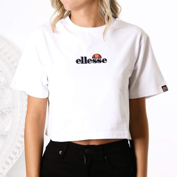 Ellesse Women Fireball Tee in White