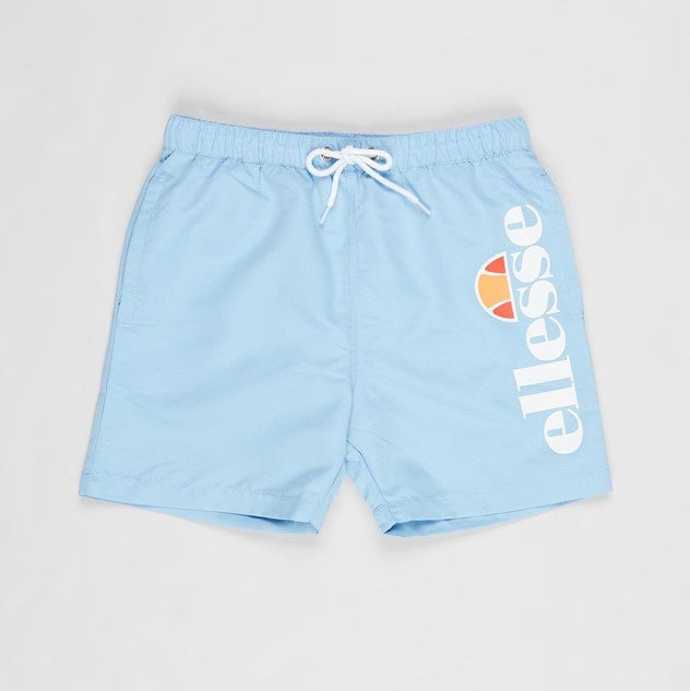 Ellesse Boys Bervios Swim Shorts in Light Blue