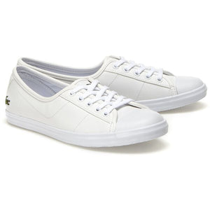 Lacoste Women Ziane BL 1 CFA Shoes in White