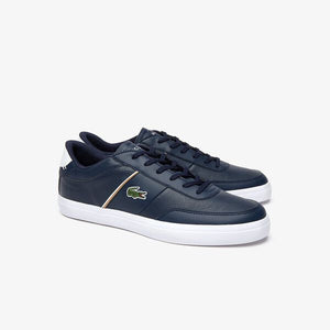 Lacoste Men Court-Master 319 6 CMA Shoes in Navy/White